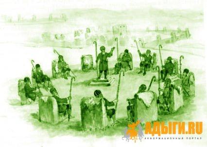 ПРОБЛЕМА ПРЕЕМСТВЕННОСТИ ХАСЫ И СЪЕЗДА ДОВЕРЕННЫХ БОЛЬШОЙ И МАЛОЙ КАБАРДЫ И ПЯТИ ГОРСКИХ ОБЩЕСТВ