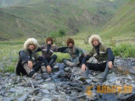 И. Ф. Бларамберг о составе племен черкесских
