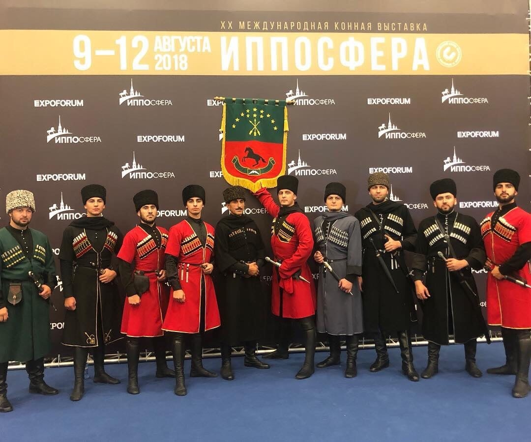 Адыги представили черкесскую породу лошадей на крупнейшем в России конном мероприятии