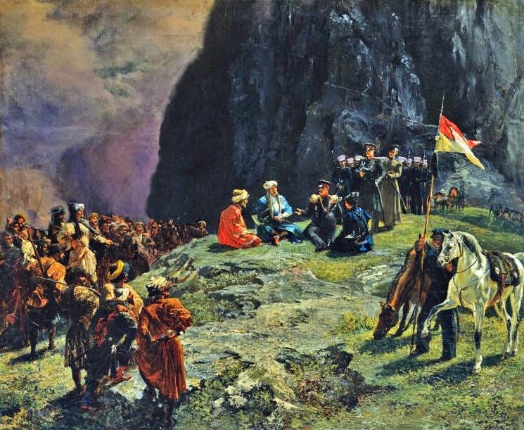 О выселении черкесов