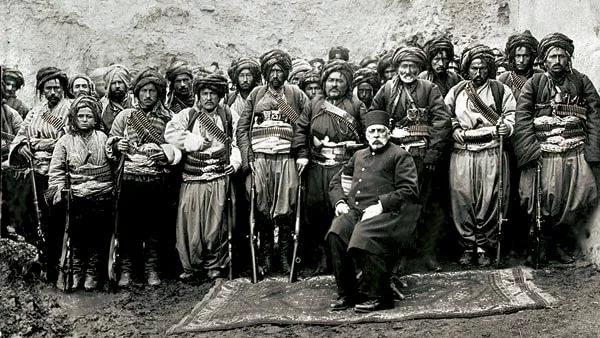 Башибузуки  - карательные войска турецкой армии