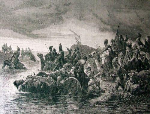 Численность и расселение мухаджиров