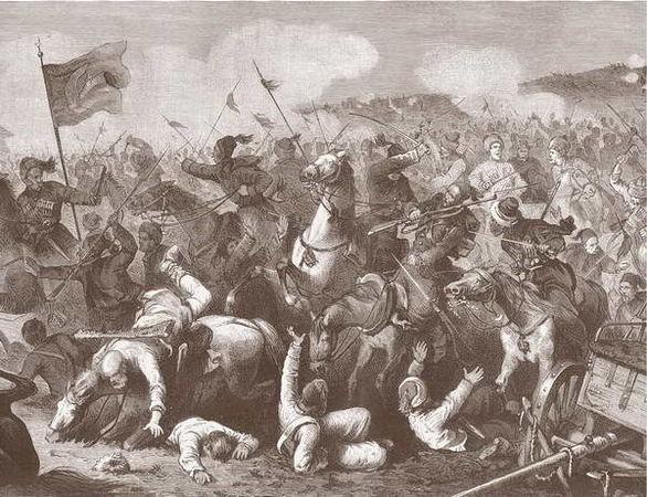 1769 год. Поход генерала Медема в Кабарду.