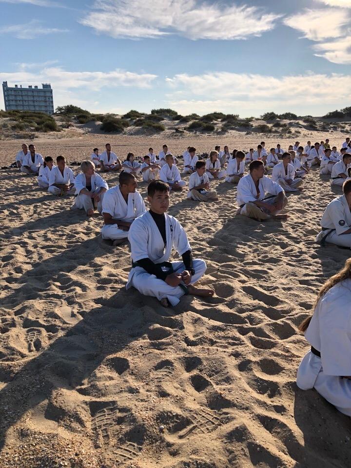 Региональные учебно тренировочные сборы ЮФО по Шинкиокушинкай каратэ - «Шиновец 2018»
