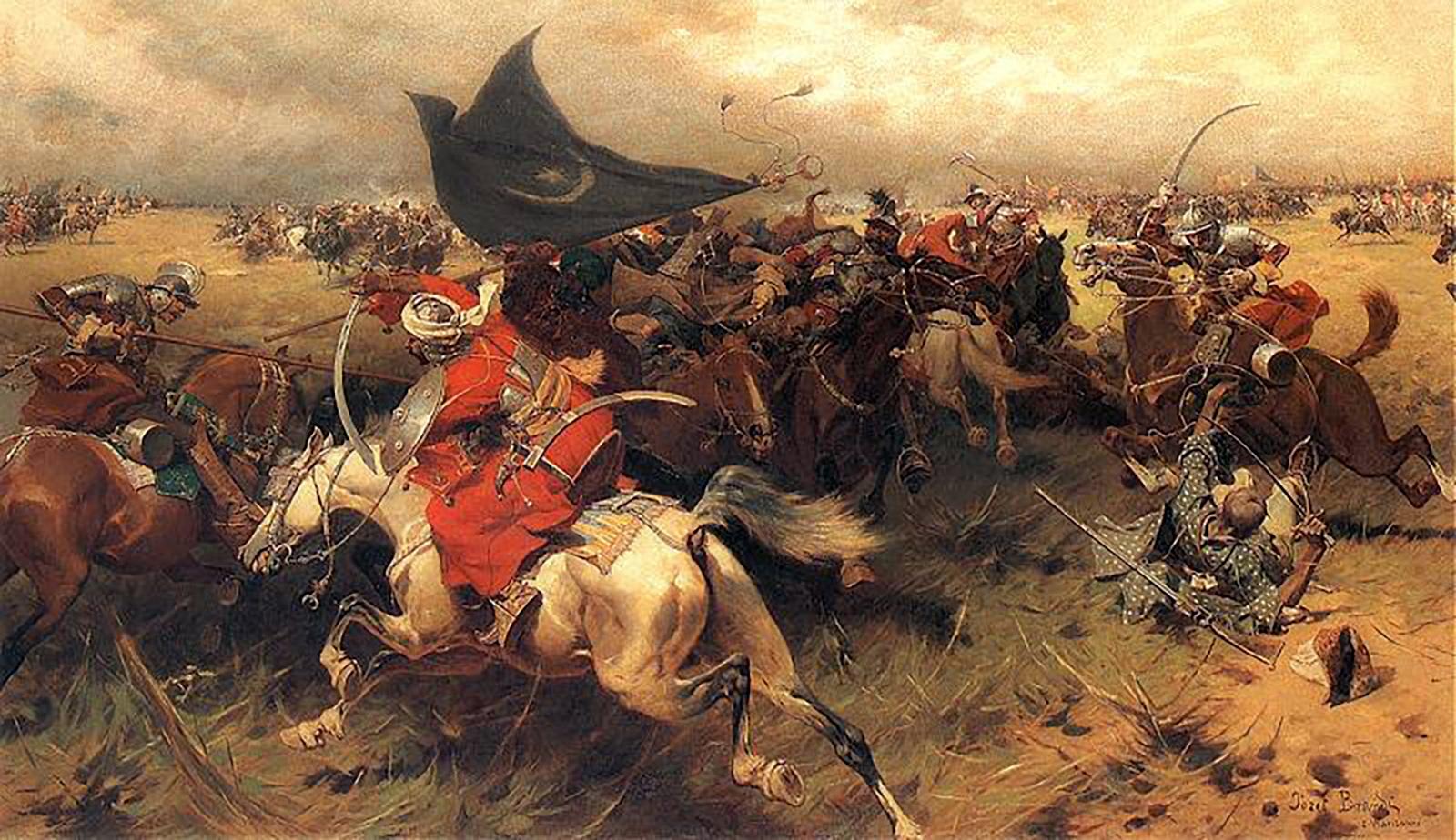 Движение крымского хана с турецким войском в Кабарду