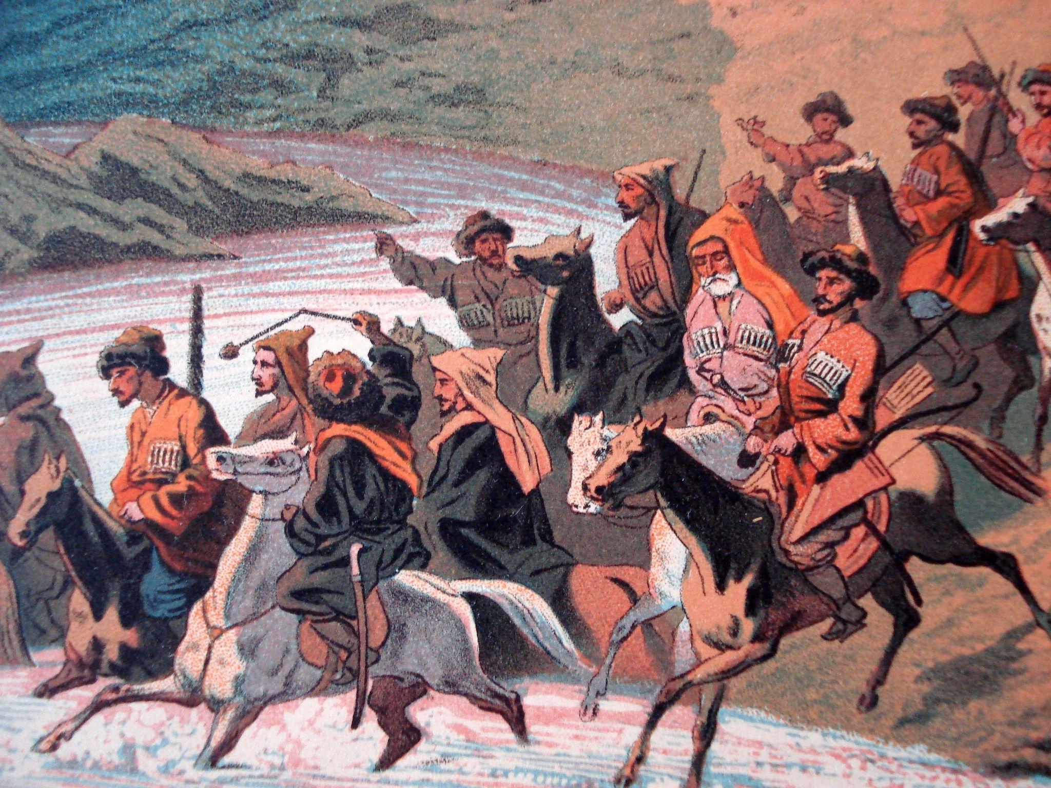 Князь Хатожуко и старания его к прекращению раздоров между кабардинскими князьями