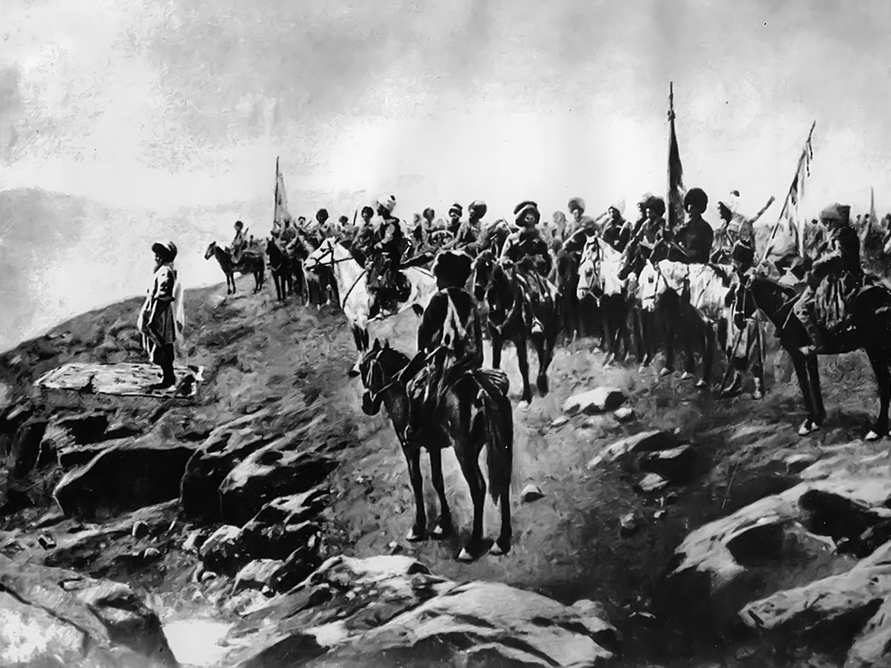 Кавказская война: ЧЕРКЕССКИЕ НАБЕГИ
