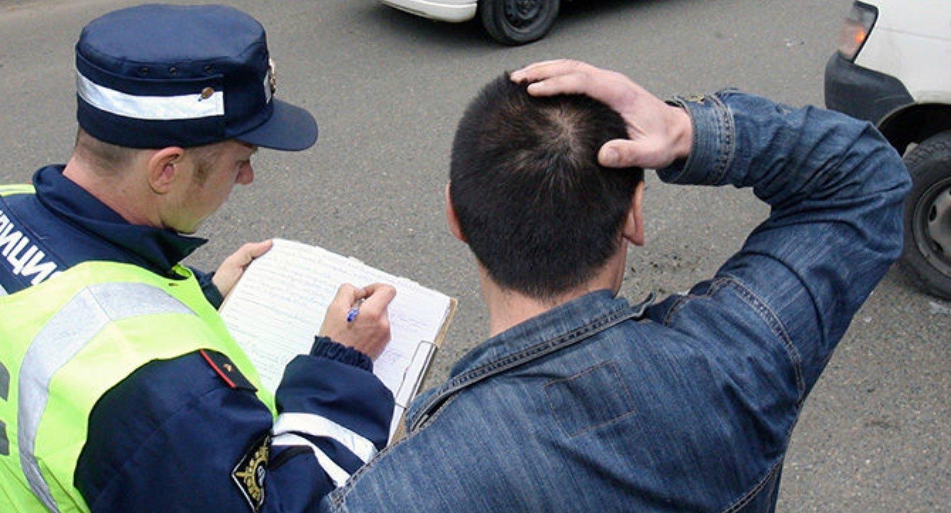 Виновника аварии оштрафовали на полторы тысячи рублей