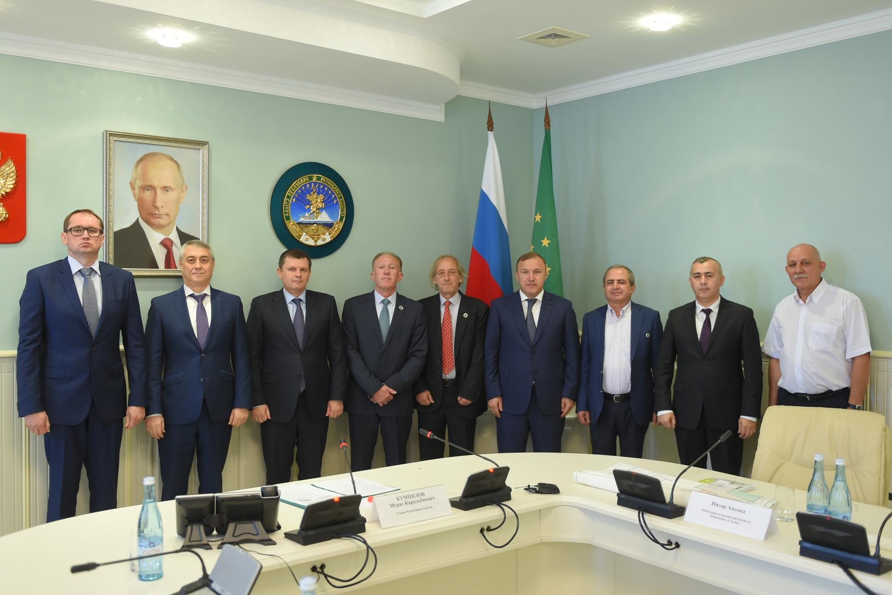 Глава Адыгеи обсудил с инвесторами из Иордании