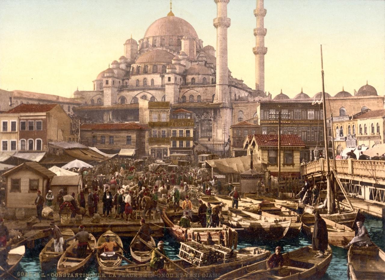 Османская империя в период черкесского изгнания