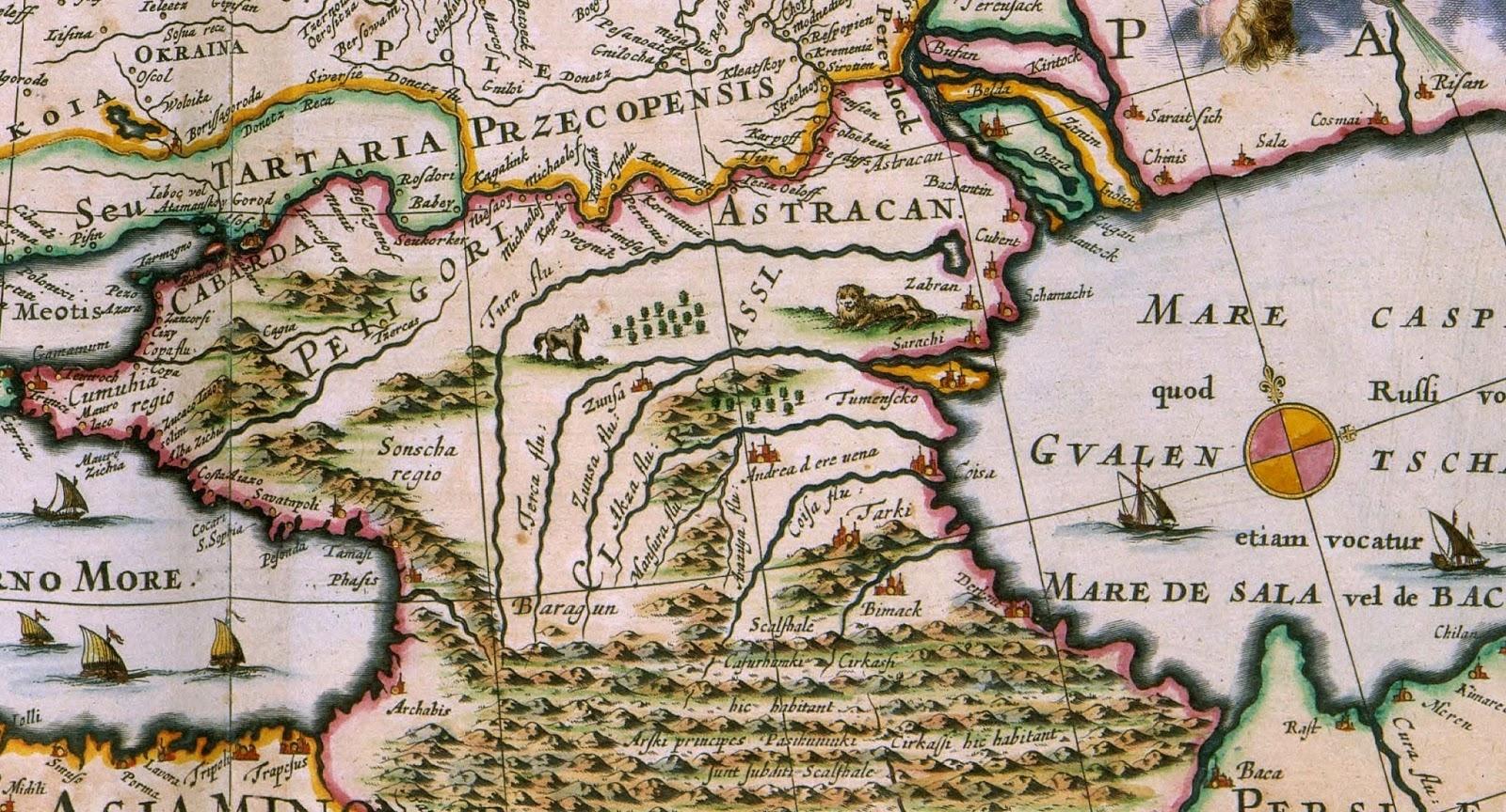 Древняя страна на территории Кавказа и один из самых древних народов побережье Черного моря