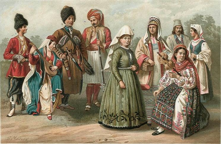 Студенецкая о одежде народов Северного Кавказа XVIII-XX вв.
