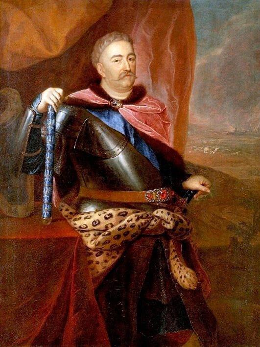 Польский король Ян Собесский одевался обычно в кавказскую одежду