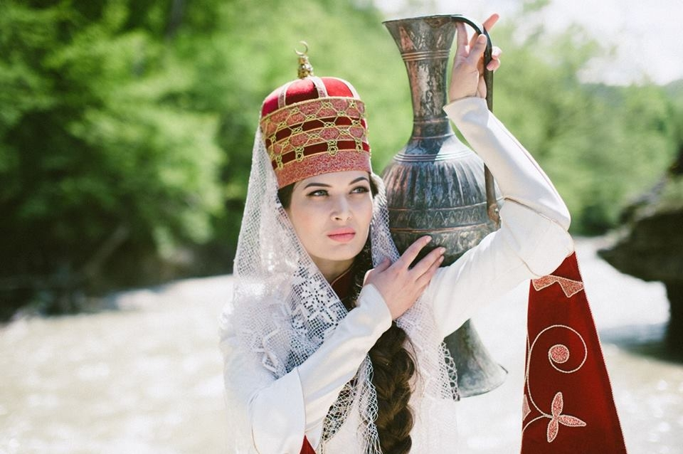 Петр Симон Паллас о женщинах Черкессии