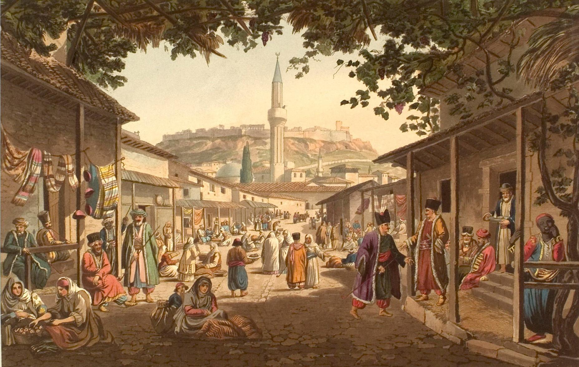 Об Османской империи второй половины XIX века