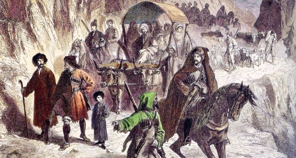 Черкесы – самые многочисленные и самые могущественные среди прочих народов Кавказа