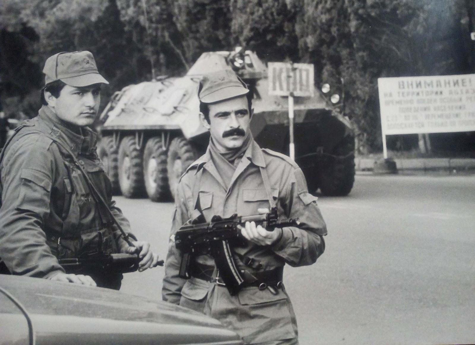 1989 ГОД. ПЕРВАЯ КРОВЬ