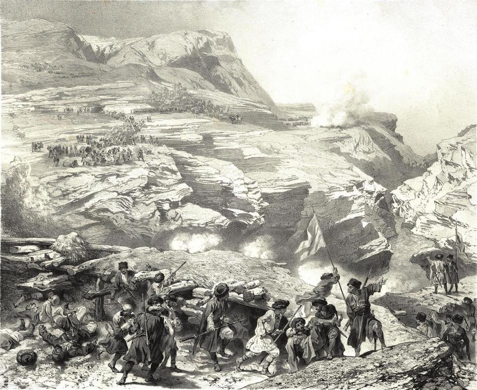 Русско-Кавказская Война: Штурм аула Буджук (1802)