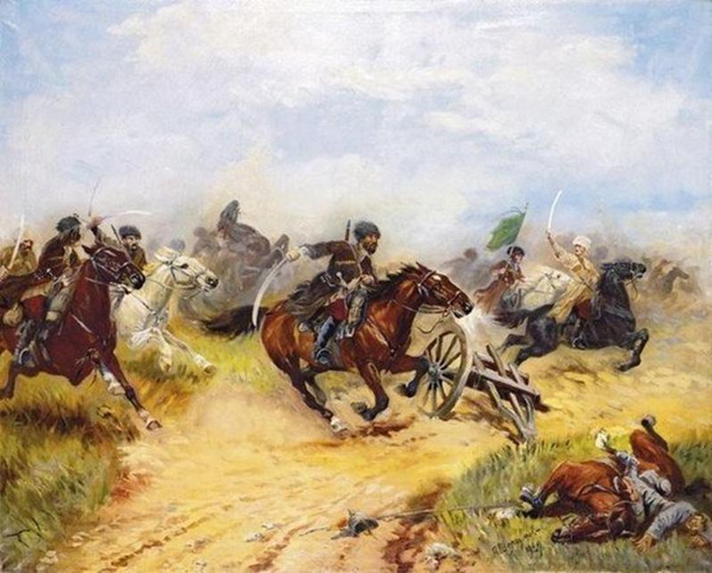 В. А. Потто, Кавказская война: