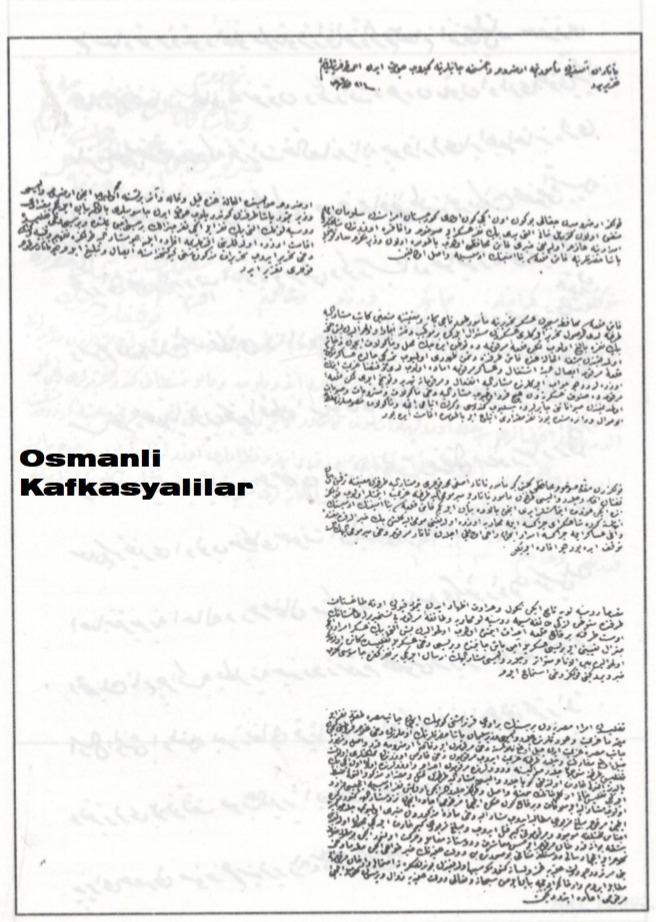 О выступлении османского коменданта Сухума Келеш-бея на помощь черкесам