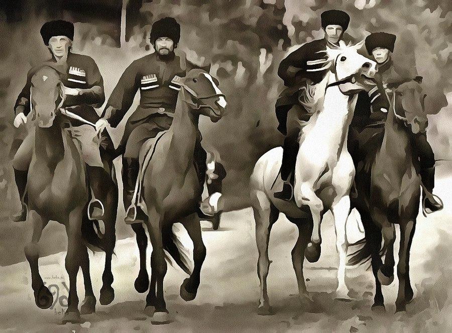 М. Кандур «Кавказ» (отрывок)