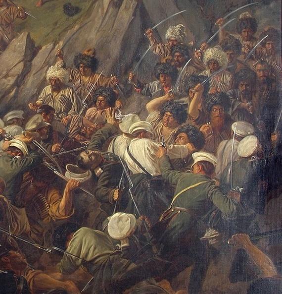 Кавказская война. Воспоминания русского офицера о битве с черкесами в 1857 году