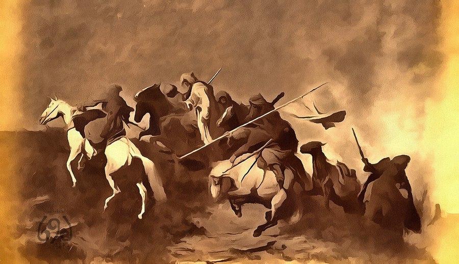 Предание о войне с хазарами. Война хазар с кахами и кегахами. Сражение на Пшизе