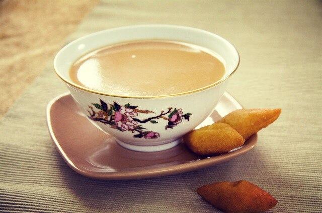 Калмыцкий чай или, как говорят адыги, Къэлъымэкъу щай, никакого отношения к калмыкам не имеет