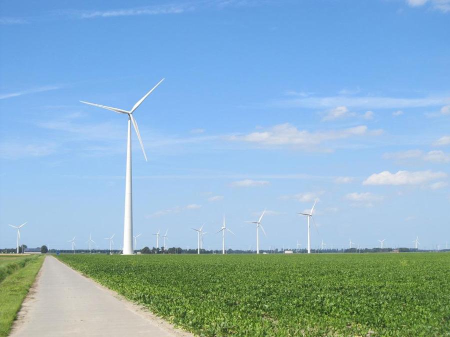 В Адыгее началась закладка фундамента самого мощного в России ветропарка