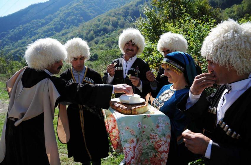 Застольные традиции народов Кавказа