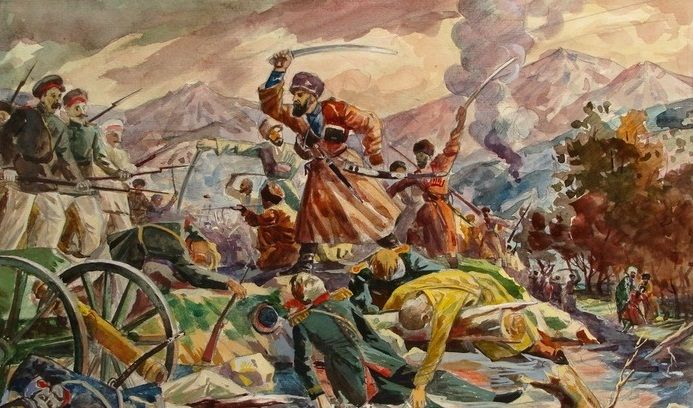 Начало колонизации Кабарды в 1763 году