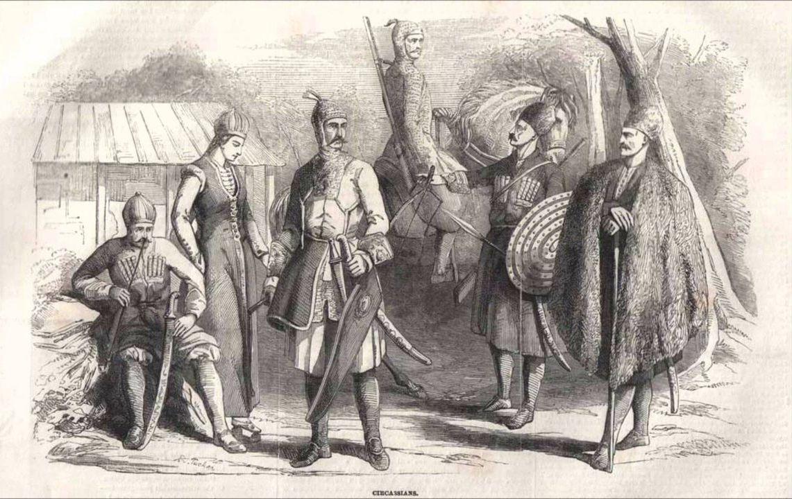 Первые контакты и общие судьбы адыгов и Руси (Х-ХII веках)