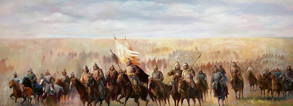 Монгольские войска потерпели поражения от шапсугских войск возле реки Сусан