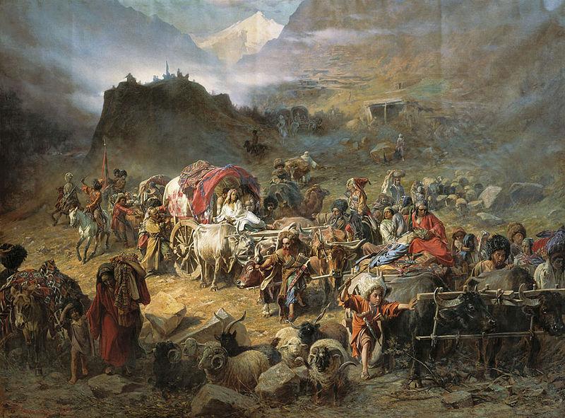Русско-турецкая война 1877—1878 гг. и второе переселение «черкесов»