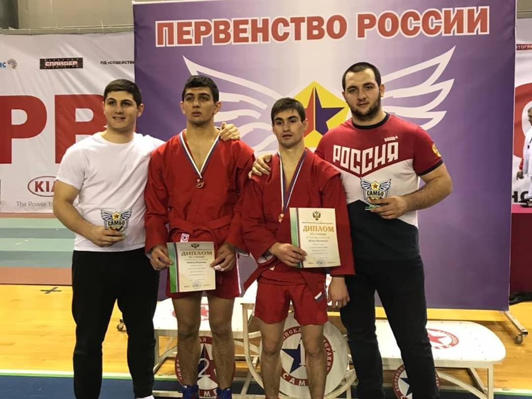Спортсмены из Адыгеи стали призерами первенства России по самбо