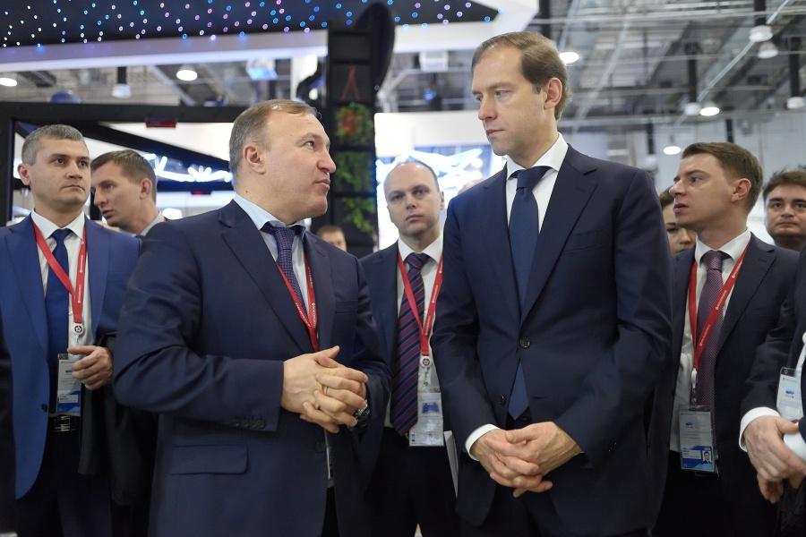 Руководитель Минпромторга РФ и глава Адыгеи провели переговоры
