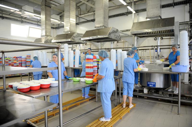 В Адыгее открыли новый молочный цех
