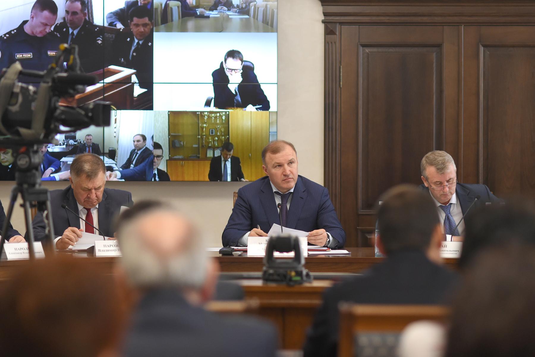 Глава Адыгеи провел заседание республиканской антинаркотической комиссии