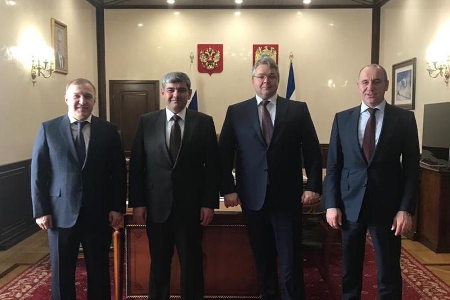 Глава Адыгеи прибыл с рабочим визитом в Кабардино-Балкарию