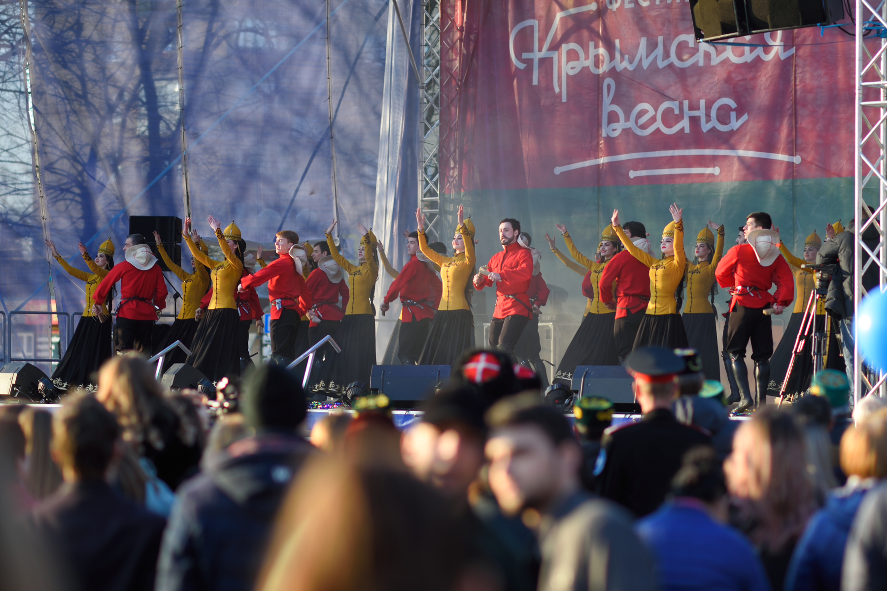 В Адыгее отметили пятилетие воссоединения России с Крымом и Севастополем