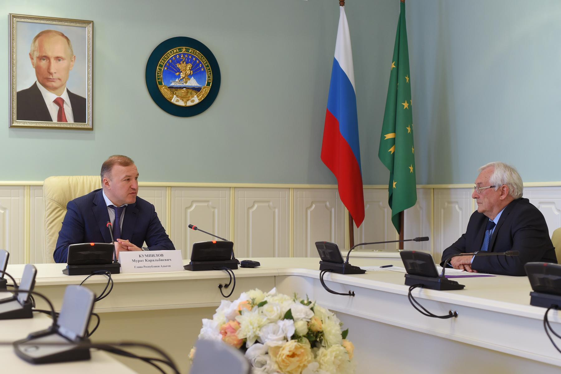 Власти Адыгеи обратятся в Минприроды РФ для развития в регионе гидрометеослужбы