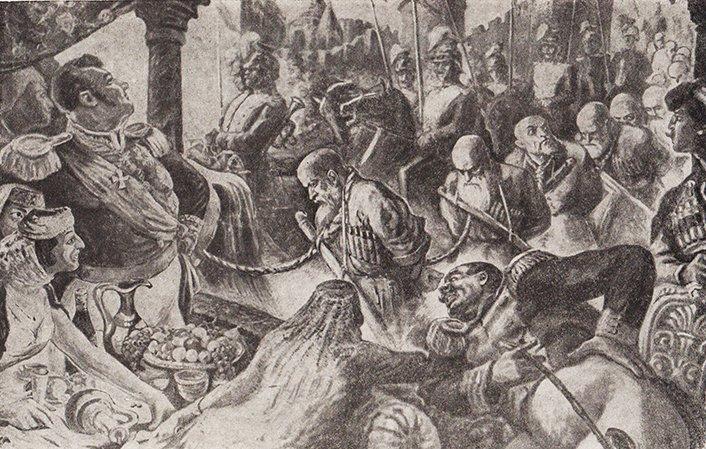Предложение черкесам о переселении в Турцию