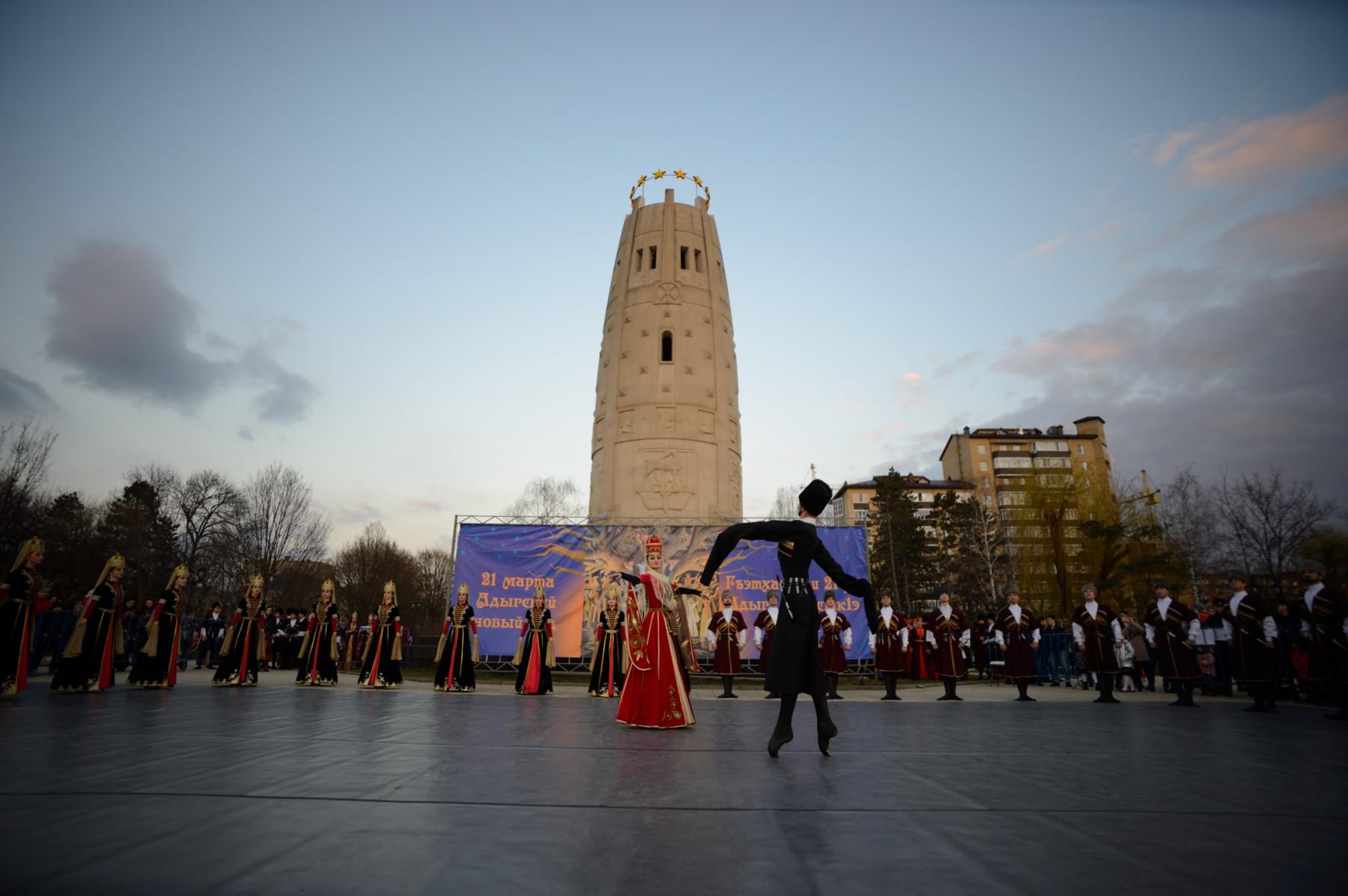 В Адыгее отметили Новый год по адыгским традициям