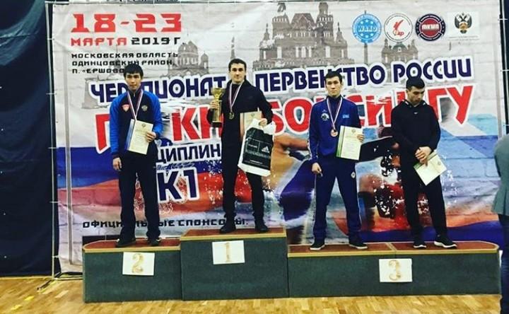 Спортсмен из Адыгеи стал чемпионом России по кикбоксингу