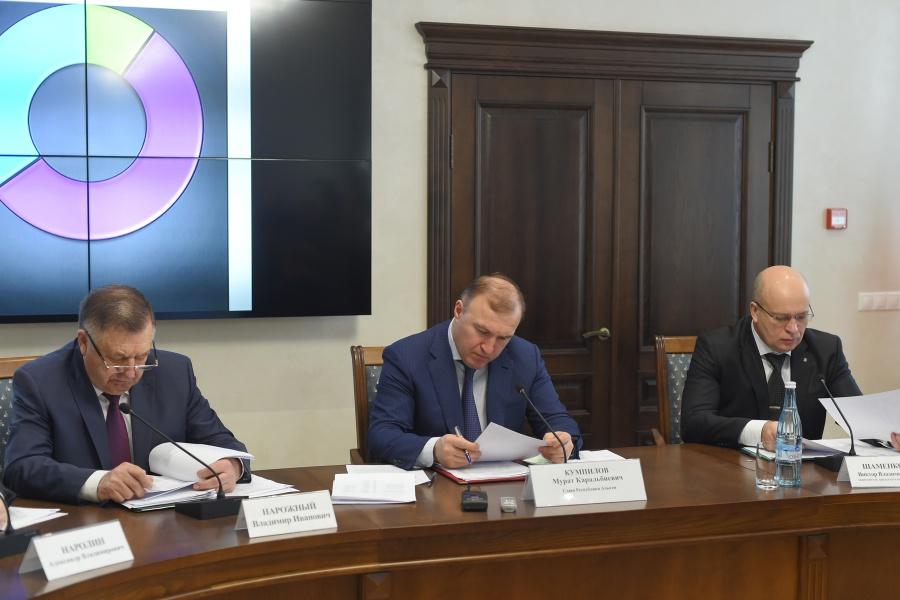 Глава Адыгеи провел заседание координационного совещания по обеспечению правопорядка в РА