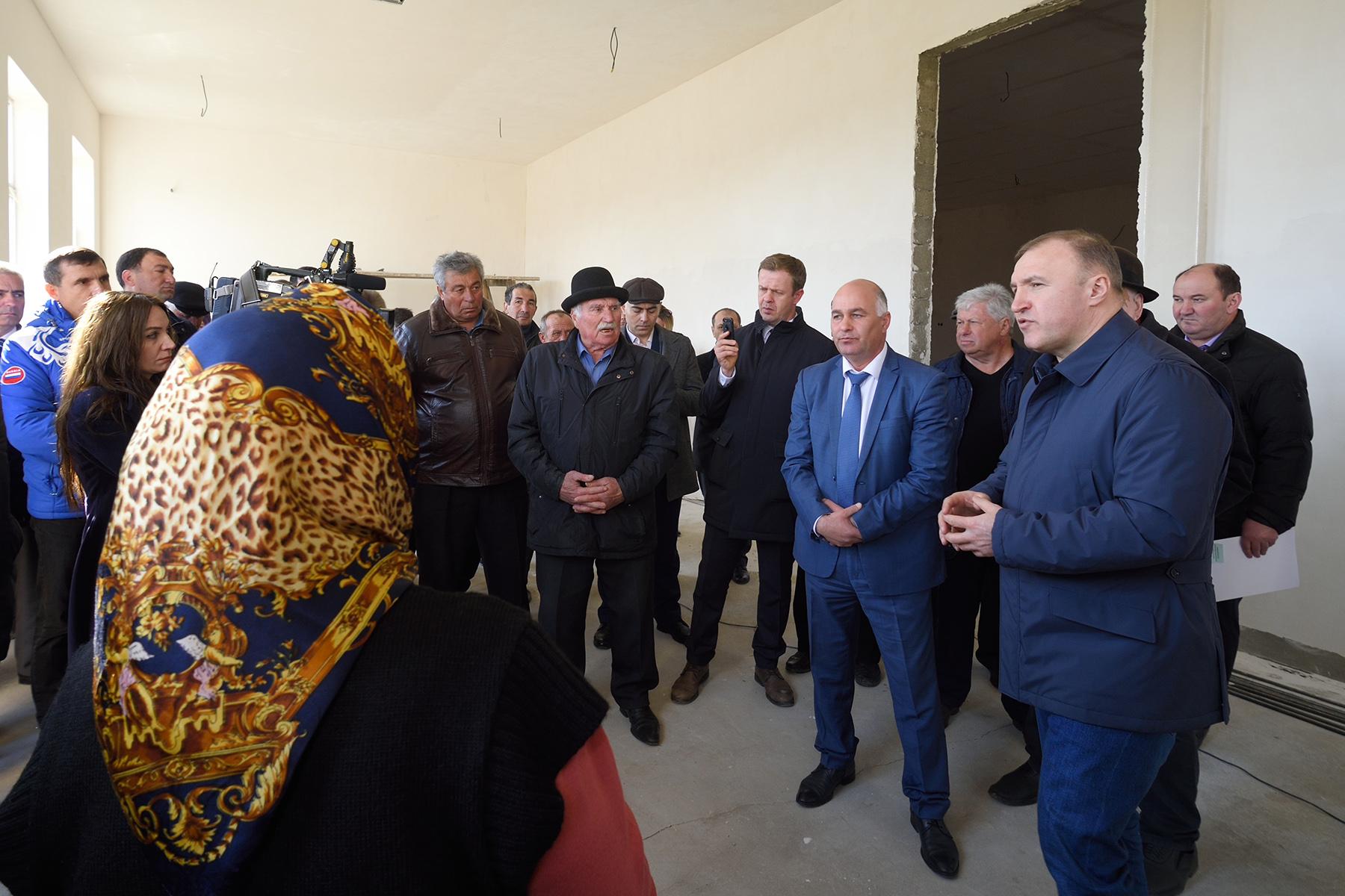Глава Адыгеи посетил с рабочей поездкой аул Пшикуйхабль