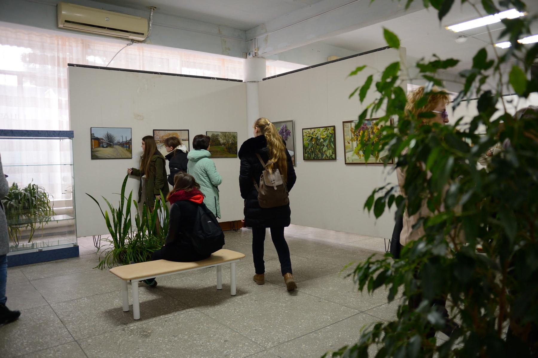 В Адыгее открылась персональная выставка заслуженного художника РА