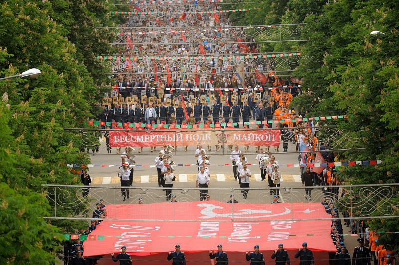 Столица Адыгеи готовится к проведению акции «Бессмертный полк»