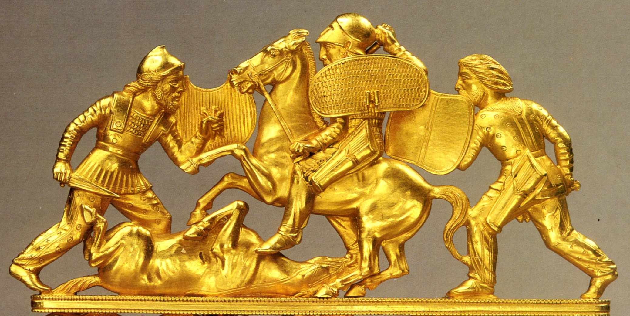Киммерийское золото или тайна курганов Кавказа