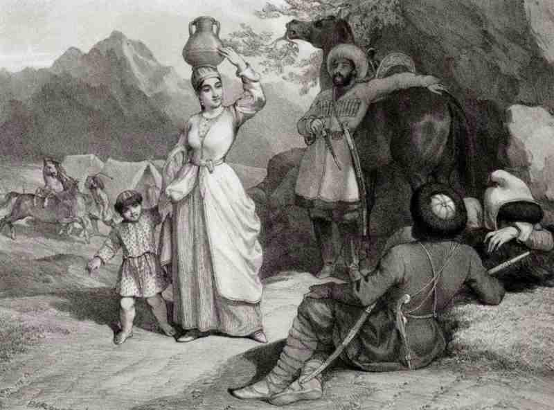 Сообщения генуэзцев о черкессах